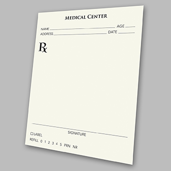 rx secure prescription pads